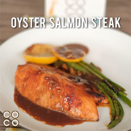 OYSTER SALMON STEAK